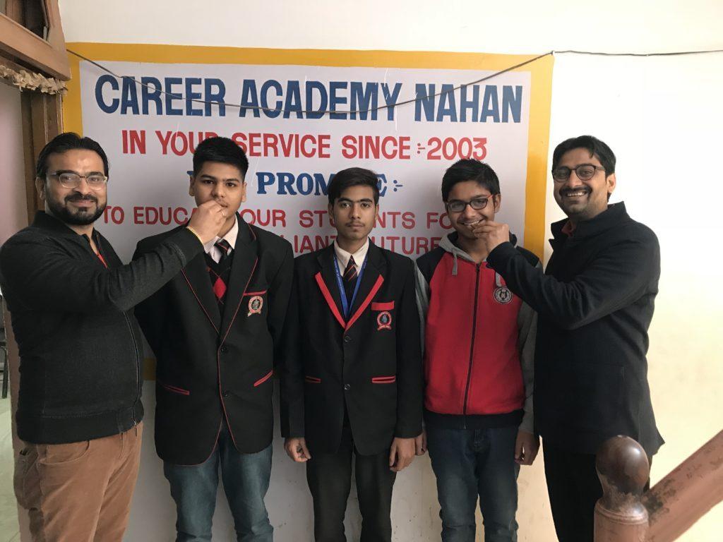 Students cracked NDA Exam 2017