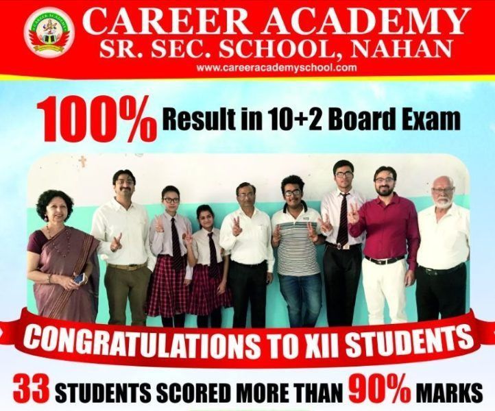 Result In 10+2 Board Exam.