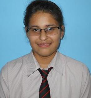"""Ridhima"" Scored 688 Marks and Secured 3rd Rank in HP BOARD MERIT LIST."