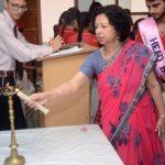 Lamp Lighting by Ms Vijay Chauhan - Principal